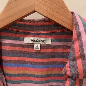 Madewell Tops - Madewell courier button back shirt
